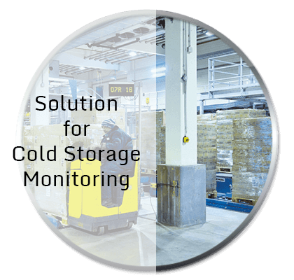 Cold Storage Temperature and Humidity Monitoring System