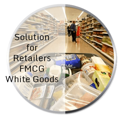 Tracking Solutions for Retailers FMCG White Goods